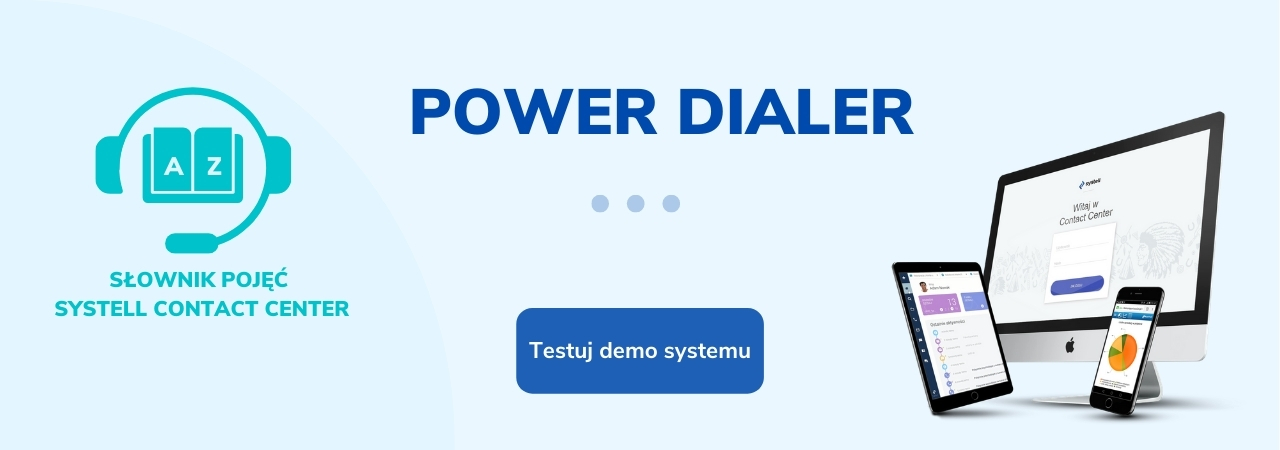 power-dialer -slownik-pojec-systell