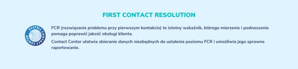 first contact resolution