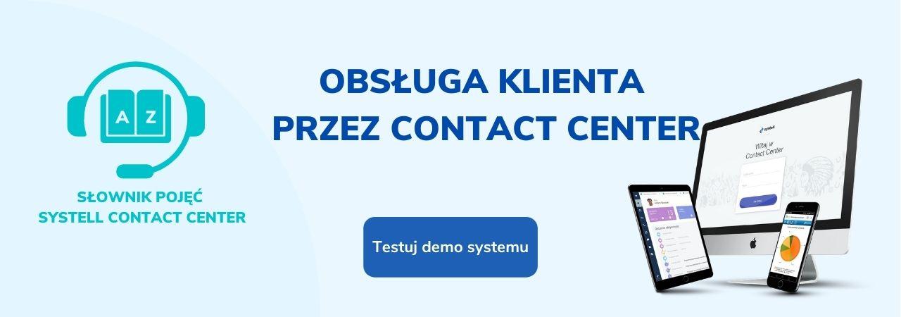 obsługa klienta przez contact center -slownik-pojec-systell