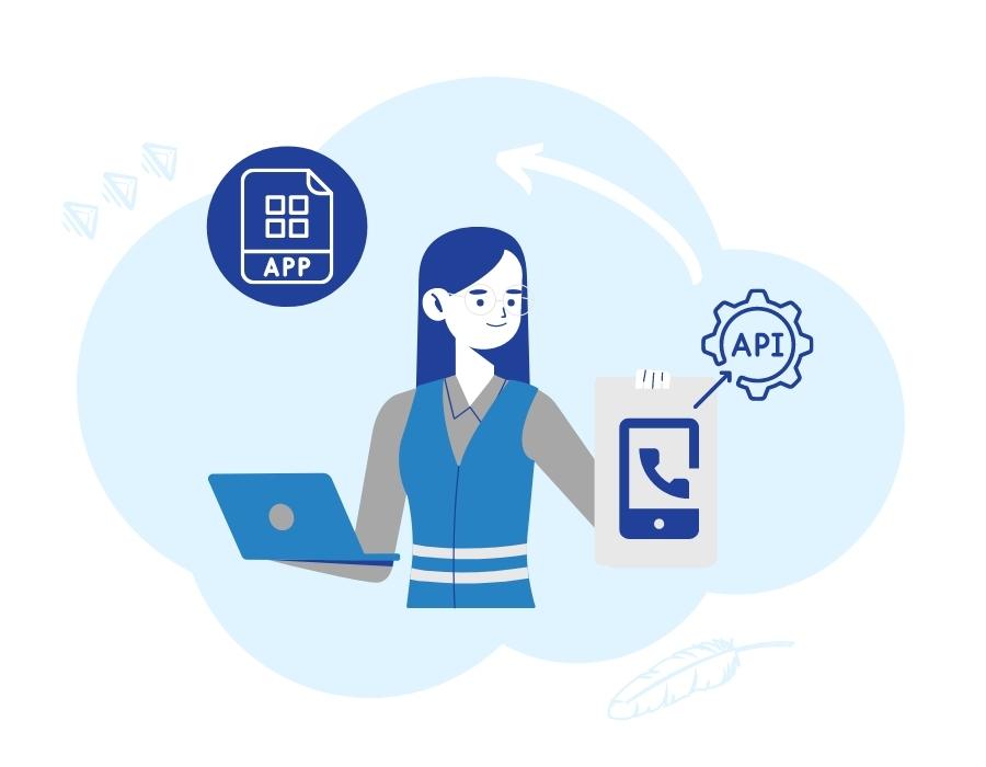 integracja telefonii z aplikacją w dużych firmach
