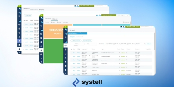 Systell Contact Center - wchodzi wersja 6.11